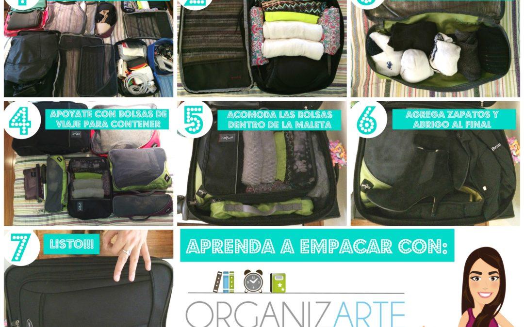 Organizar la maleta para un viaje literario