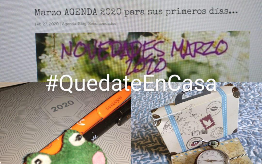 AGENDA –  #YoMeQuedoEnCasa Volveremos a hacer la #Maleta