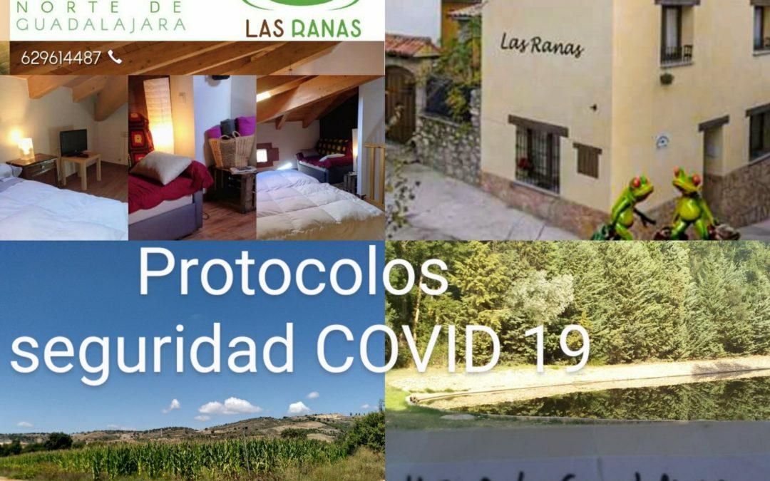 Protocolos COVID 19 para nuestros ALOJAMIENTOS