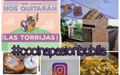 Concurso : #CocinaPasionBubilla y #chuleadeGuada