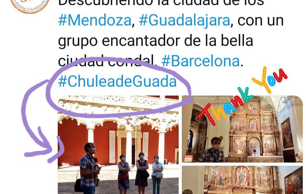 #ChuleadeGuada con Guía Oficial :     Manuel Granado